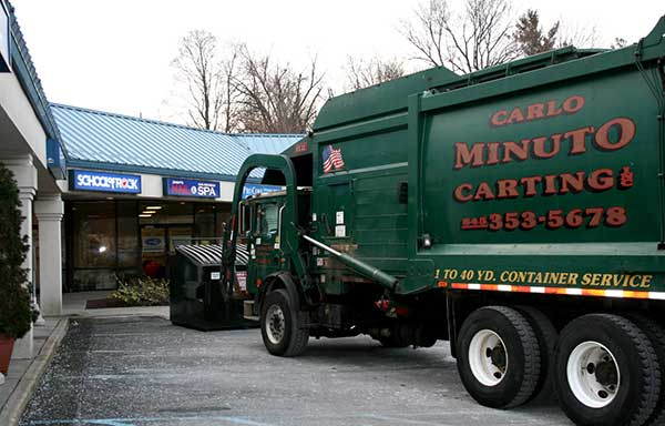 Commercial Waste Removal & Recycling-Carlo Minto Carting